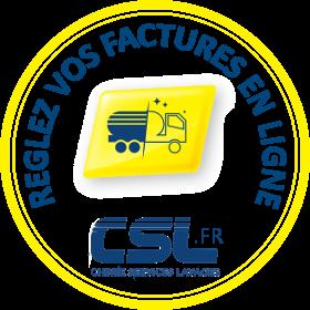 Paiement en ligne de vos factures CSL
